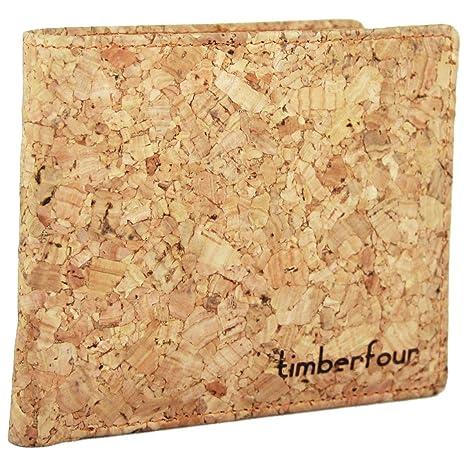 Timberfour - Cartera para Hombre Corcho: Amazon.es: Equipaje