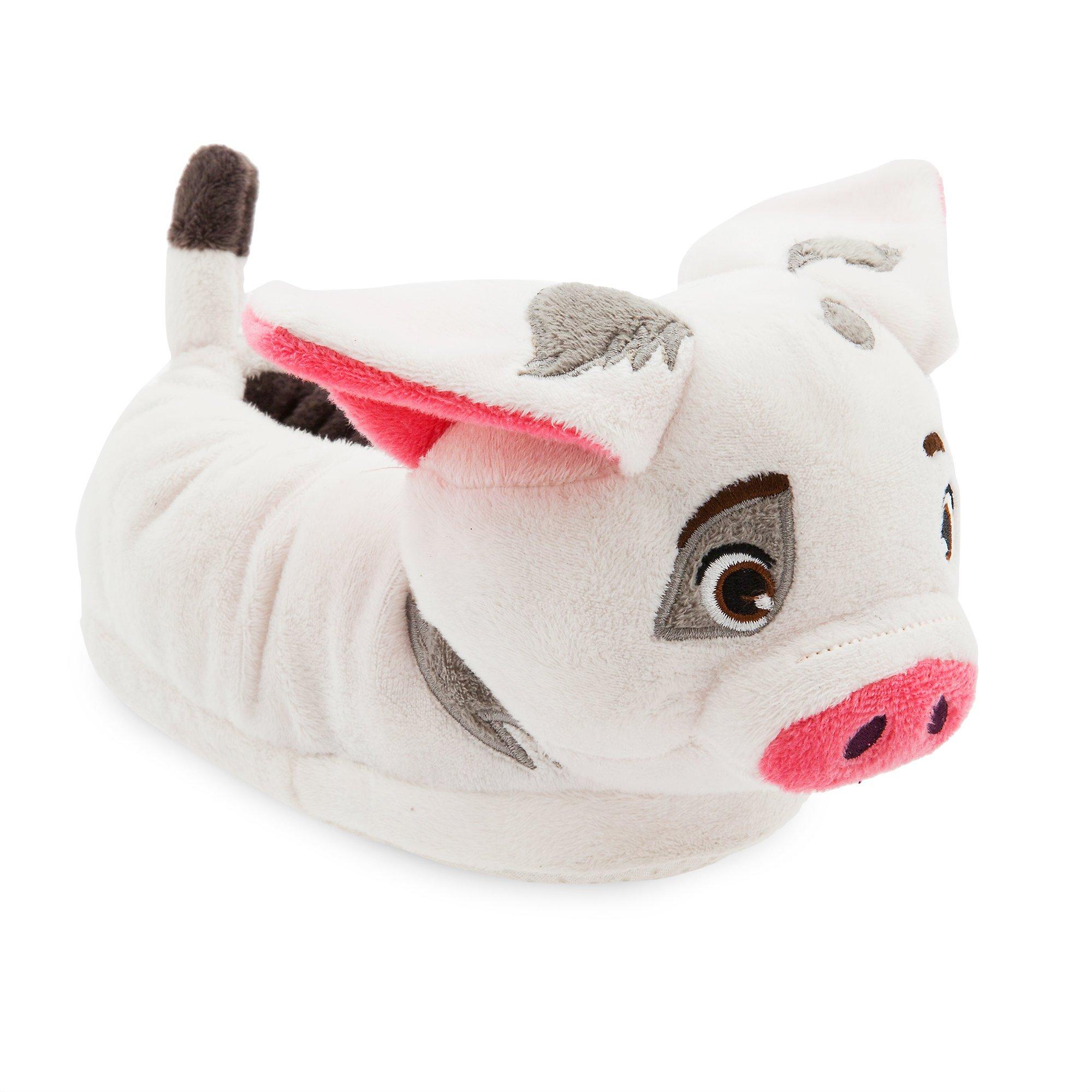 Disney Pua Slippers for Kids - Moana,White,11/12 YTH