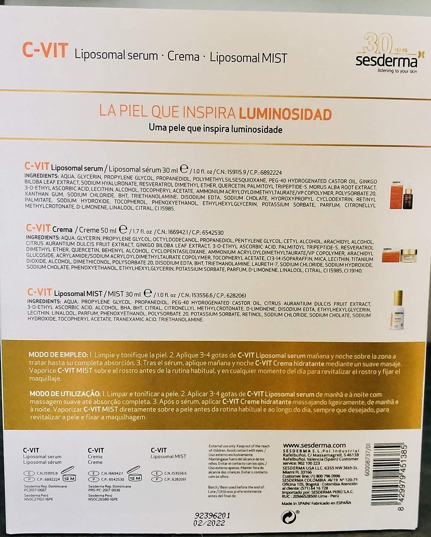 Sesderma Promoción Luminosidad - Pack C-Vit Serum + C-Vit Crema + ...
