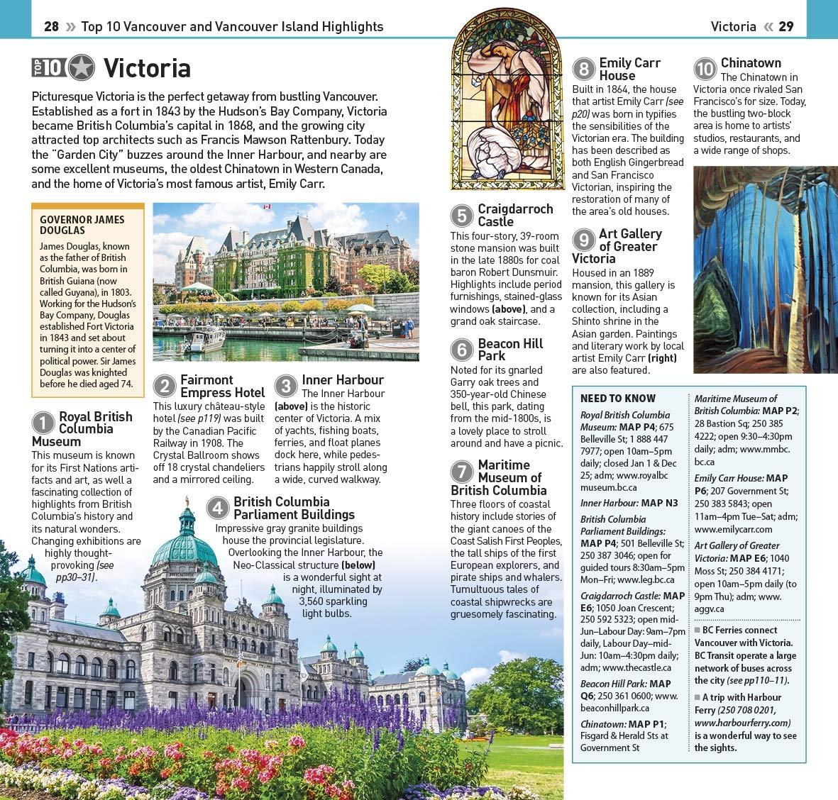 Dk Eyewitness Top 10 Vancouver & Vancouver Island (Dk