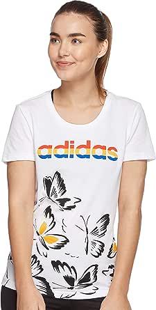adidas Women's W FARM PRINT TSHIRT T-SHIRTS