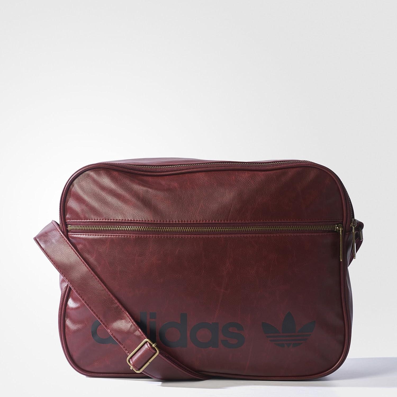 adidas Airl AC Vintage, Borsa Unisex – Adulto, Rosso (Buruni), Taglia Unica Borsa Unisex - Adulto BK6862