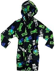 Minecraft Boys Creeper Dressing Gown