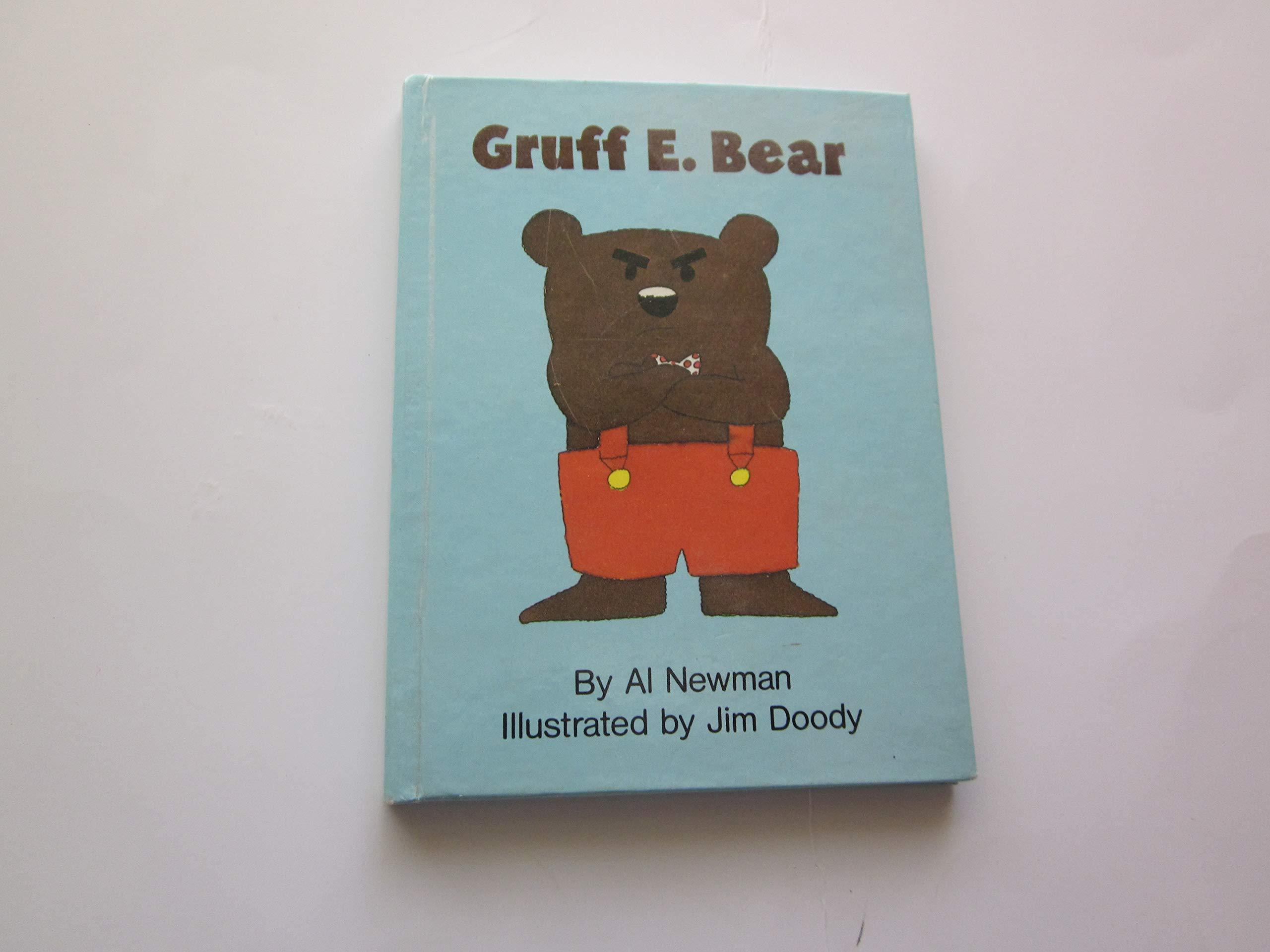 GRUFF E  BEAR-BK/TOY (Fun E  Friends Book & Toy Sets): Al