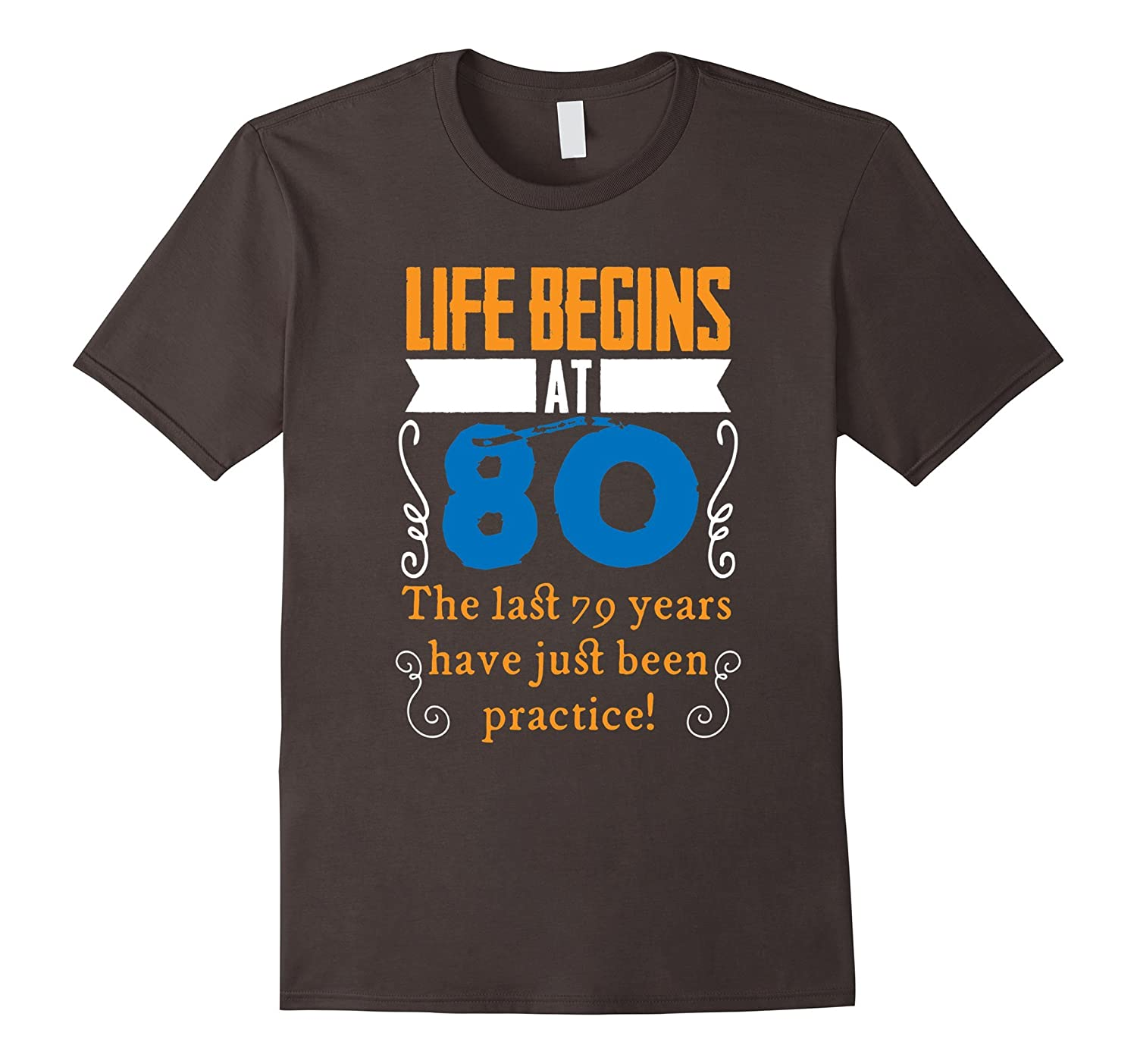 Life Begins At 80 Years Old 80th Birthday Gift Idea T