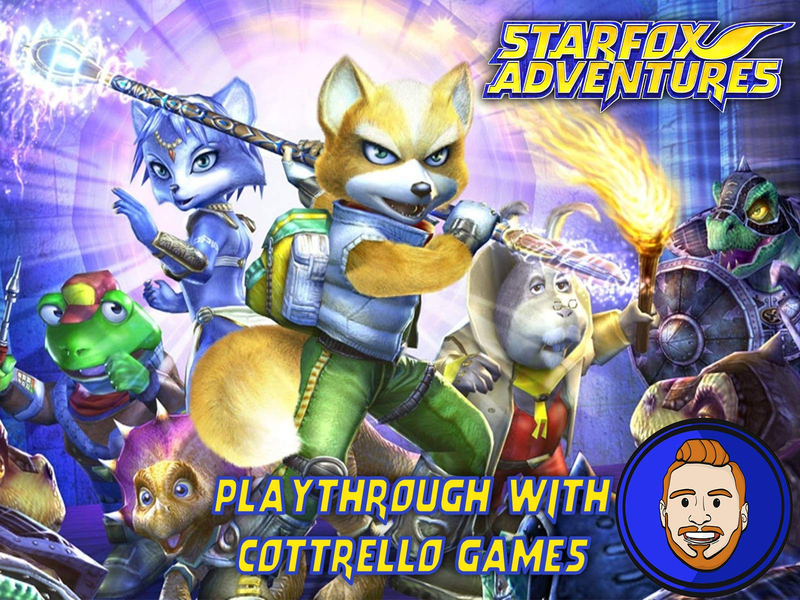 Star Fox Adventures Playthrough with Cottrello Games