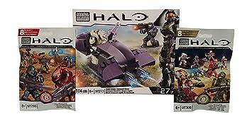 Mega Bloks Halo Rapid Assault Covenant Ghost (97213) + Series 8
