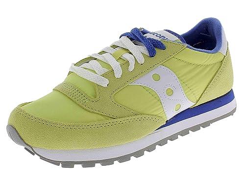 SAUCONY scarpe sneaker uomo JAZZ ORIGINAL S2044 450 giallo blu 41 eu 8 us 7 uk