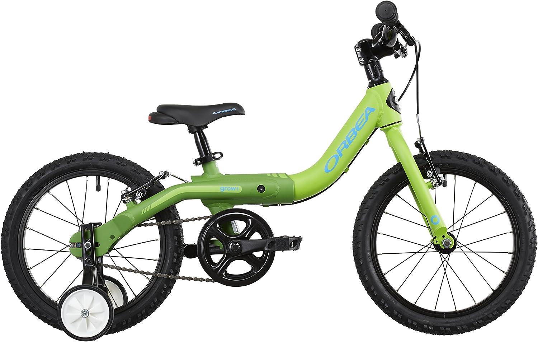 Bicicleta para niños ORBEA Grow 1 16 pulgadas verde 2015: Amazon.es: Deportes y aire libre