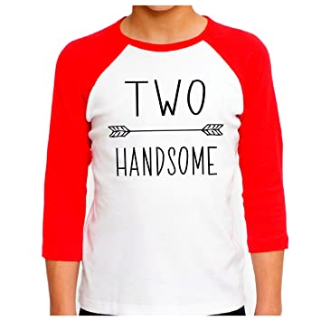 second birthday boy shirt two handsome boys 2nd birthday outfit 18 24 months
