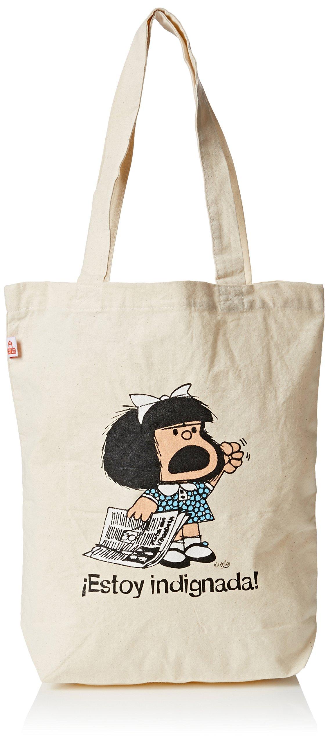 Bolsa Mafalda, Estoy indignada!: Quino: 9788862127714 ...