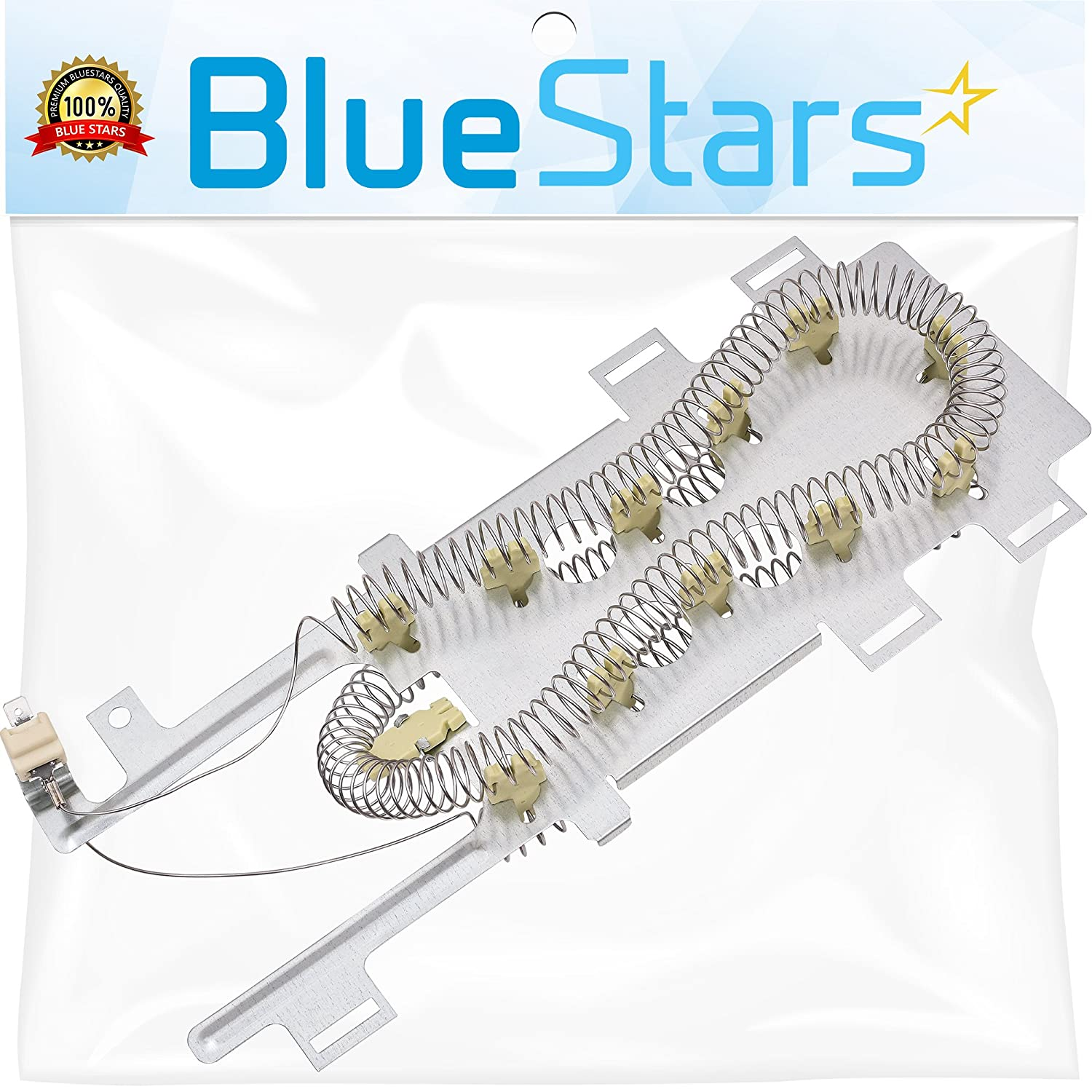 Ultra Durable 8544771 Dryer Heating Element Replacement Part by Blue Stars – Exact Fit For Whirlpool & Kenmore Dryers – Replaces W10836011 WP8544771VP