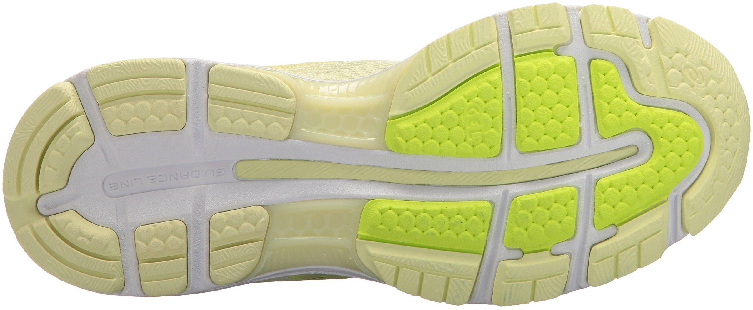 ASICS Women's Gel-Nimbus 20 Running Shoe, limelight/limelight/safety yellow, 5.5 Medium US by ASICS (Image #3)