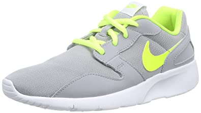 Nike Kaishi GS Kids Running Sneaker (7 Big Kid M, GreyYellow)