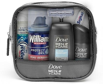 Dove Men+Care Neceser de Viaje para Hombre - 1 Pack: Amazon.es: Belleza