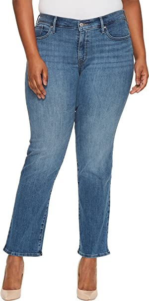 87a48e7f12e Levi s Womens Plus-Size Plus-Size 314 Shaping Straight Jeans  Amazon.ca   Clothing   Accessories