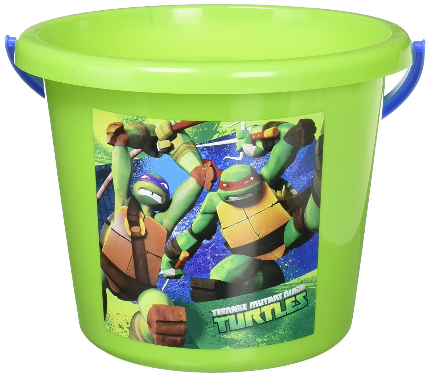 "Amscan Teenage Mutant Ninja Turtles Birthday Jumbo Container Party Favour, Green, 6"" x 8"""