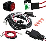 81RyikW16OL._AC_UL160_SR160160_ amazon com wiring harness,eyourlife heavy duty wiring harness kit cyclops light bar wiring harness kit at nearapp.co