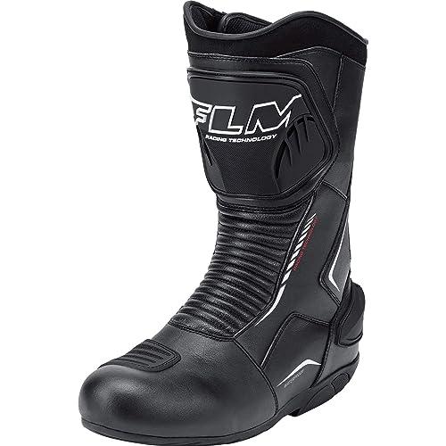 FLM Motorradschuhe, Motorradstiefel lang Sports Stiefel 2.0