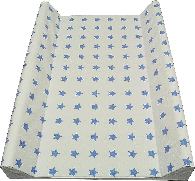 80 x 75 cm, 50 x 70 cm, 70 x 75 cm, lavable Talla:70 x 50 cm Cambiador de pa/ñales Cebra azul