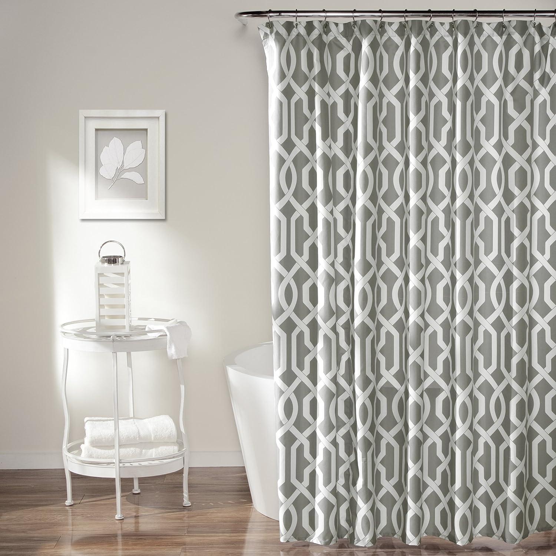 Amazon Com Lush Decor Edward Trellis Shower Curtain Inches X
