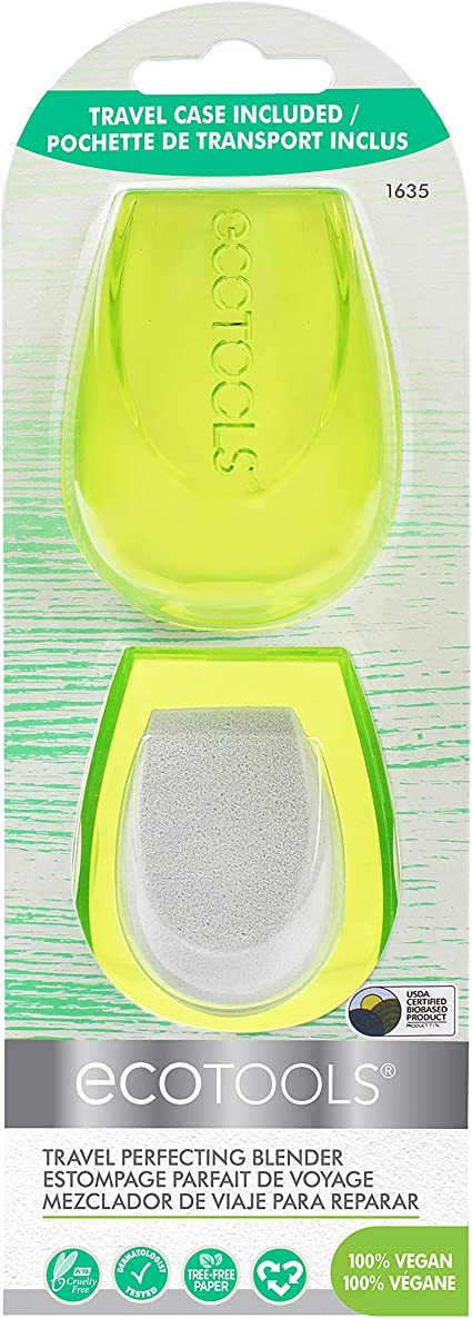 EcoTools® - Esponja de maquillaje perfeccionadora y estuche de transporte: Amazon.es: Belleza