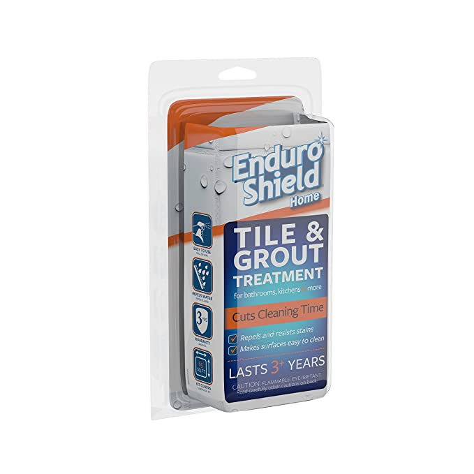 EnduroShield Home Tile Treatment 4.2 oz. Kit for Tile/Grout & More - One Application Makes Surfaces Easy to Clean for 3 Years - - Amazon.com