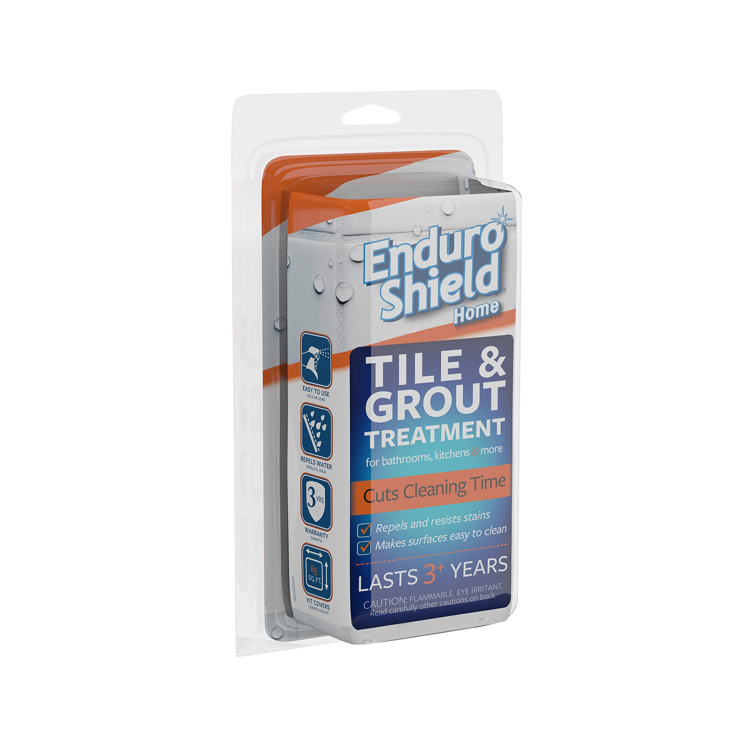EnduroShield Home Tile Treatment 4.2 oz. Kit for Tile / Grout & More - One Application Makes Surfaces Easy to Clean for 3 Years by Enduroshield