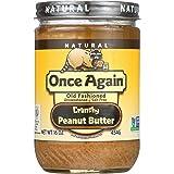 Once Again - 自然古板的不甜&无盐的花生酱嘎吱咬嚼 - 16盎司