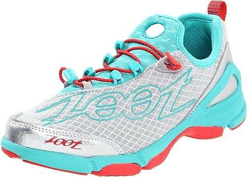 ZOOT Ultra TT 5.0 Triathlon Zapatilla Neutra Señora, Gris/Azul/Rojo, 37.5: Amazon.es: Zapatos y complementos