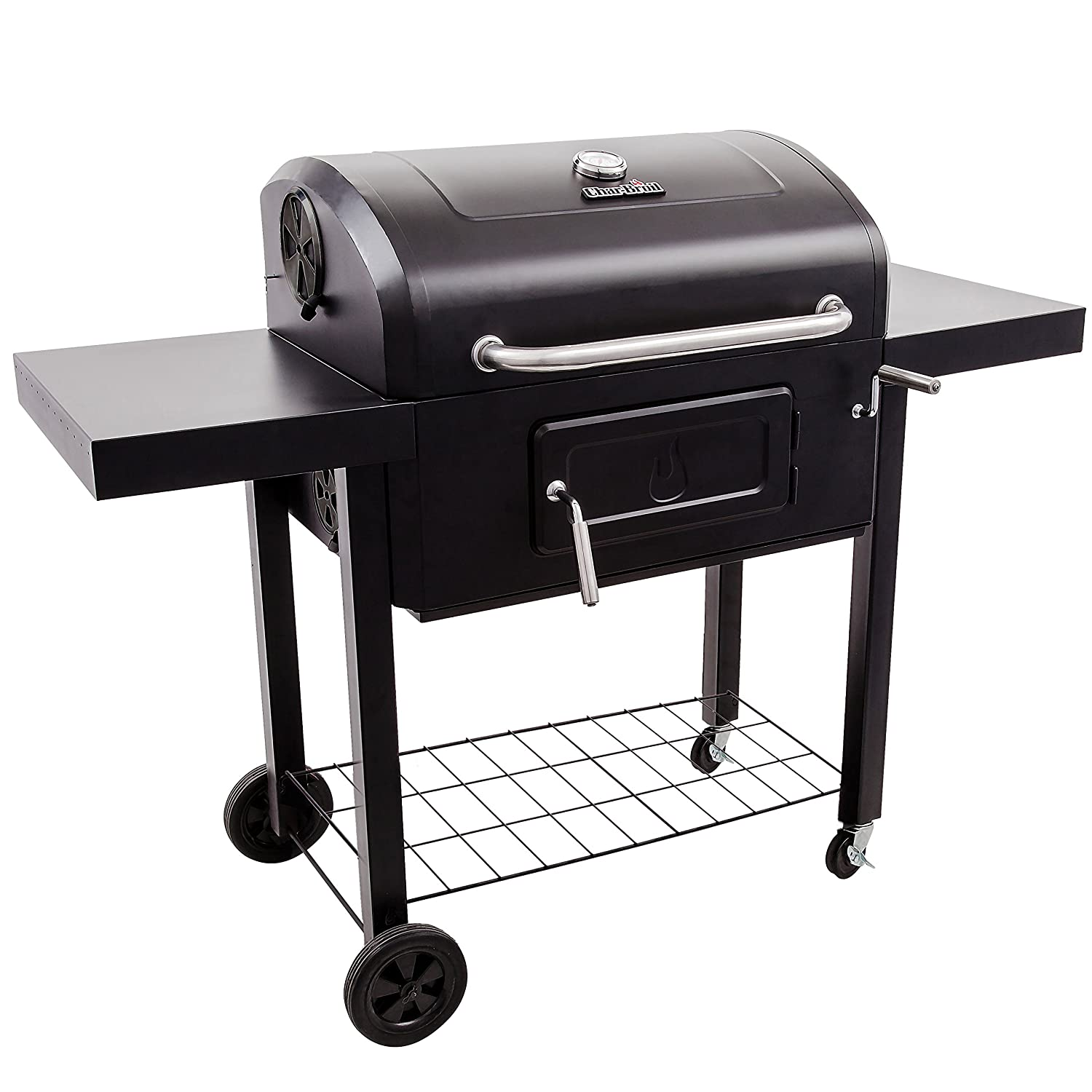 Char- Broil Holzkohlegrill, Performance Charcoal 3500, schwarz, 146,3 x 71,6 x 114,8 cm