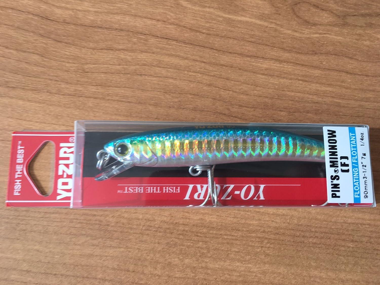 """Yo-zuri Pin/'s Minnow Green Gold  2/"""" 1//16 oz floating  F196-M176  pins Lure"""