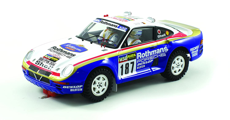 Scaleauto SC-6091 Porsche 959 Raid Dakar 1986 n.187 Kussmaul