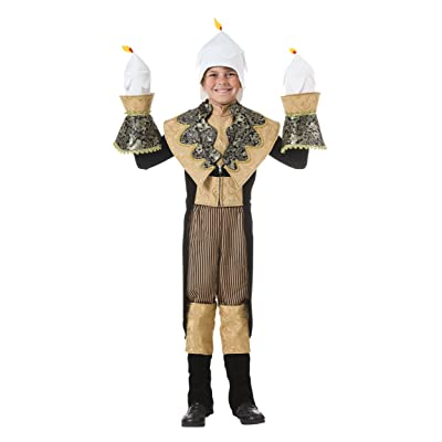 Fun Costumes Antique Exclusive Child Candlestick Costume: Clothing [5Bkhe1105850]
