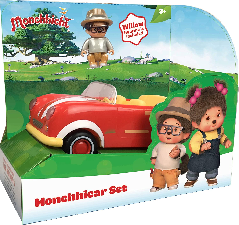 3,5 cm SILVERLIT 81501 Set de 3 Figurines Monchhinelle Monchhichi