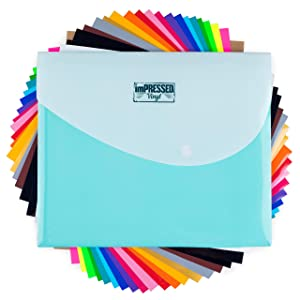HTV Heat Transfer Vinyl: 20 Pack 12