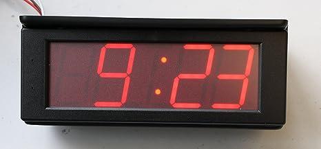 Reloj digital, reloj digital, Promont Reloj, 50 mm de altura, buena Legibilidad