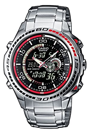 013c3c67729 Amazon.com  Casio Gents Watch Edifice EFA-121D-1AVEF  Watches