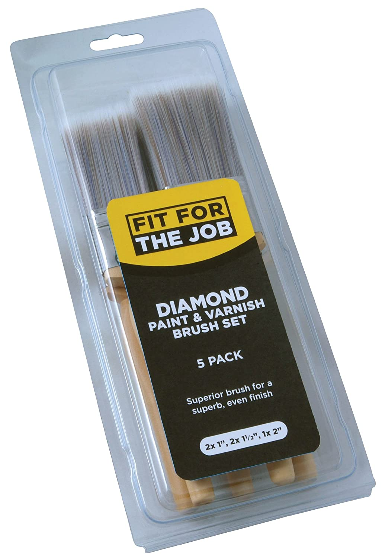 FFJ Diamond - Juego de brochas (5 piezas) RODO FFJDBS5