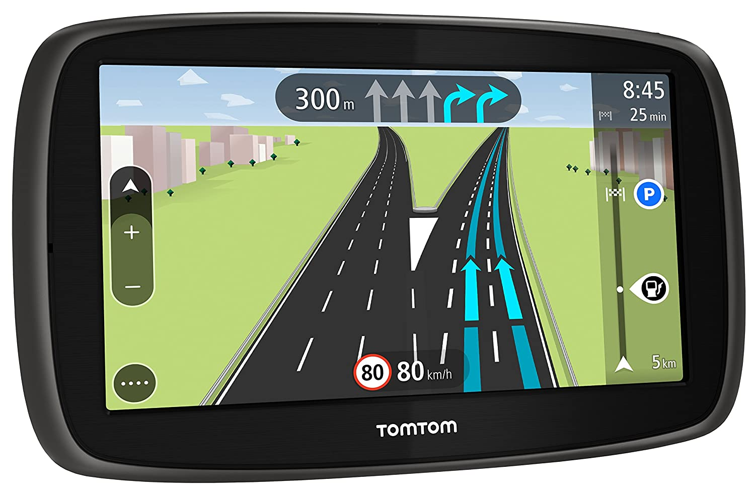 TomTom Start 50 5-Inch Sat Nav with UK, ROI Maps and Lifetime Map Updates- Black/Grey 148454