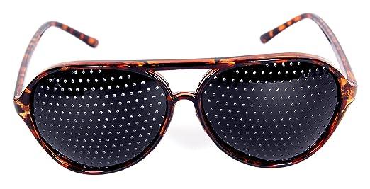 175 opinioni per FreshGadgetz 1 Set di Occhiali Foro stenopeico nero rosso blu marrone