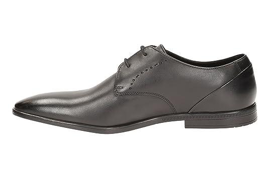 Clarks 261197958, Chaussures de ville à lacets pour homme - noir - Schwarz,  46: Amazon.fr: Chaussures et Sacs