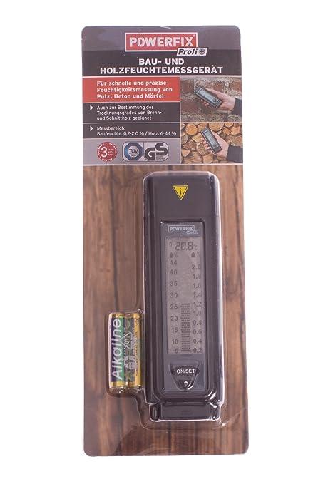 Powerfix® de construcción y madera medidor de humedad