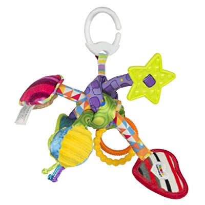 Lamaze Tug & Play Knot : Baby Shape And Color Recognition Toys : Baby