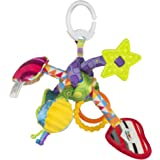 Lamaze Tug & Play Knot Clip On Pram and Pushchair Baby Toy