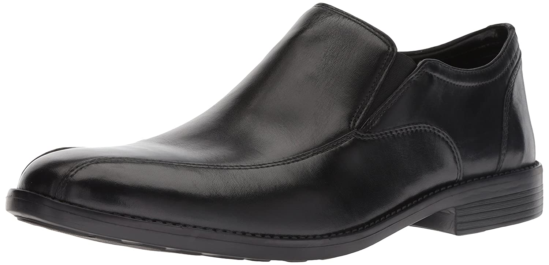 Black Leather 11 W US Bostonian Mens Birkett Step Shoes