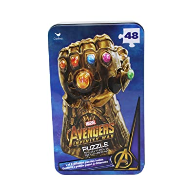 Marvel Avengers Infinity WAR Gauntlet Puzzle: Toys & Games
