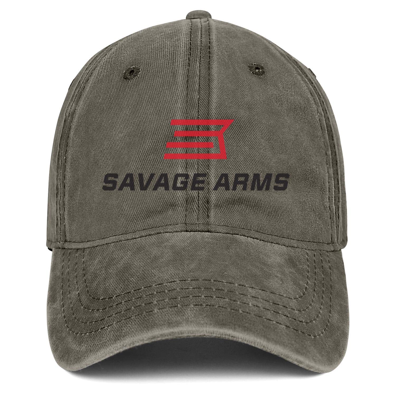 Adjustable Vintage Summer Hats Baseball Washed Dad Hat Cap Bombline Mens Womens Savage-arm-Logo