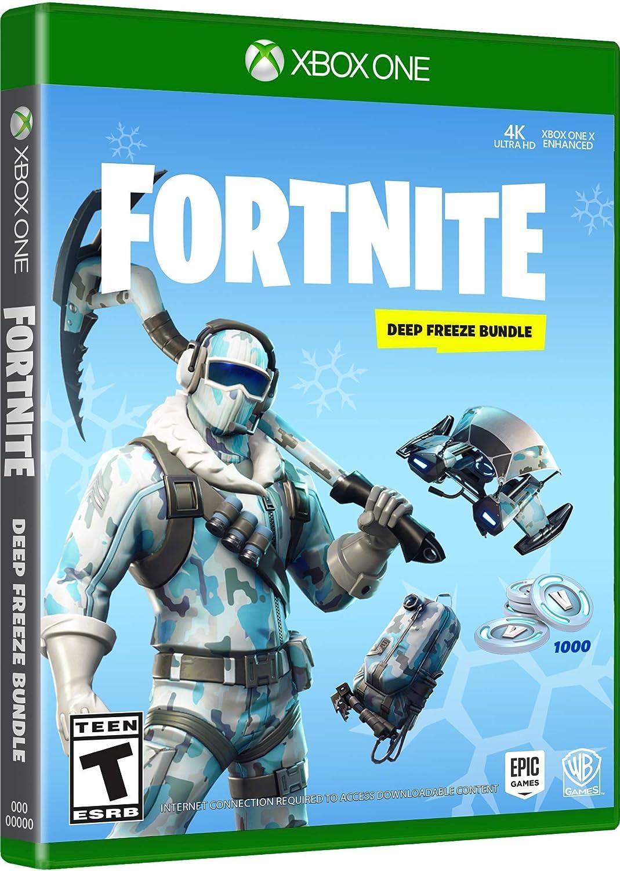 Amazon Com Warner Bros Fortnite Deep Freeze Bundle Xbox One Whv
