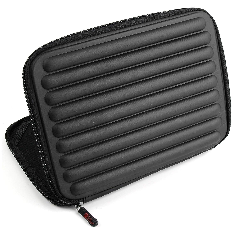 /¡Ideal para Proteger Su Tablet DURAGADGET Funda Roja con Espuma De Memoria para Qilive Q4 10.1